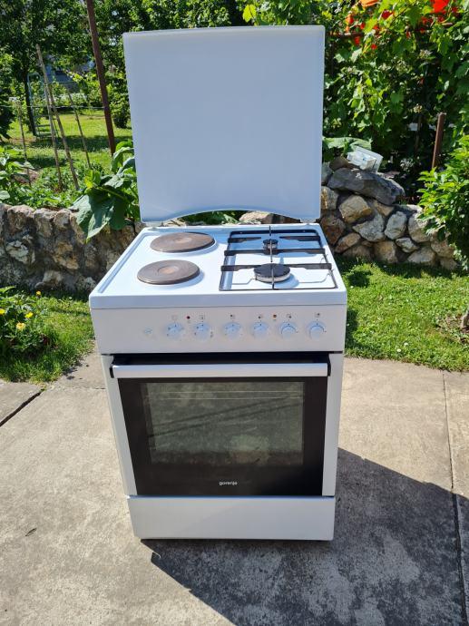 Kombinirani štednjak Gorenje K63160AW