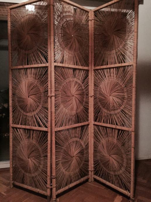 Paravan bambusova trstika