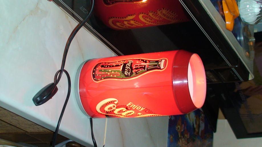 nočna lampica coca cola