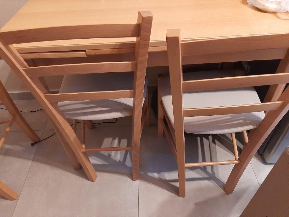 Blagovaonski stol i stolice