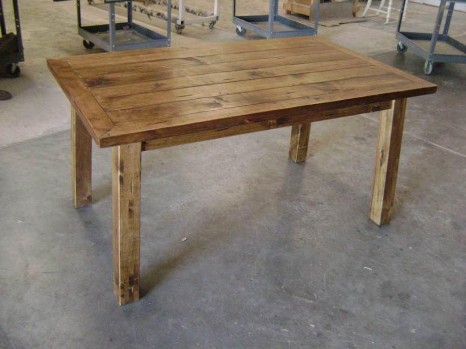 Rustikalni Masivni stol 150x70cm