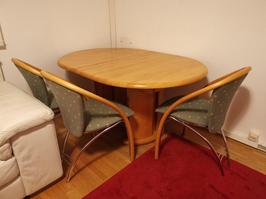 Stol i stolci za blagovaonicu