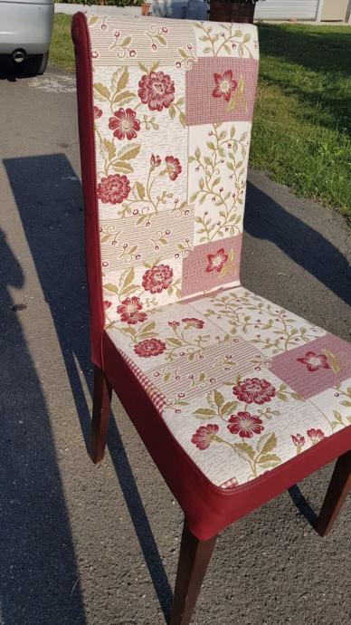 Stolice dvije garniture po šest komada