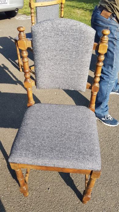 Stolice novo tapecirane 2 x 6