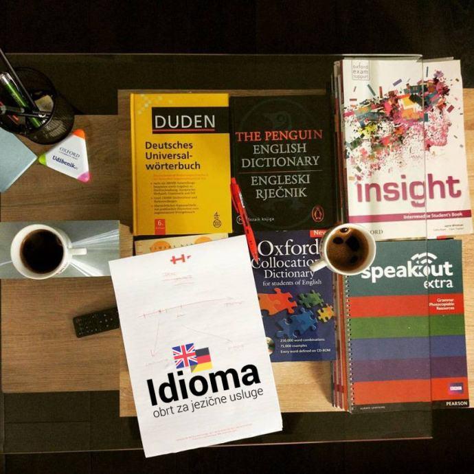Pripreme za državnu maturu, TOEFL, IELTS, CAE, Goethe Zertifikat