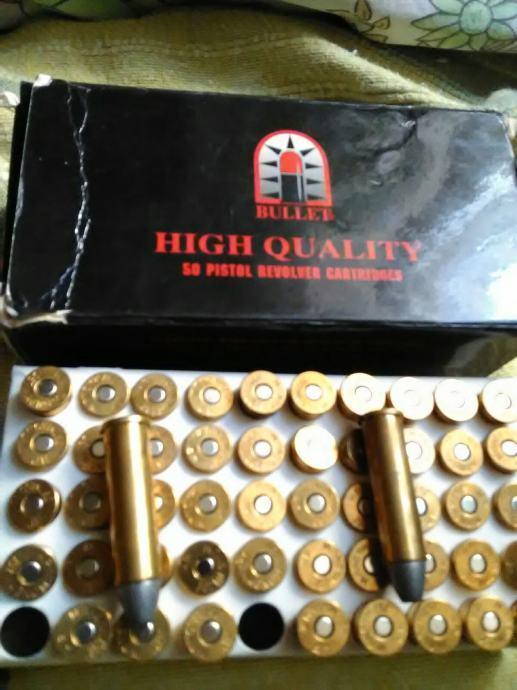50 kom 357 Magnum 11,7 g. SWC