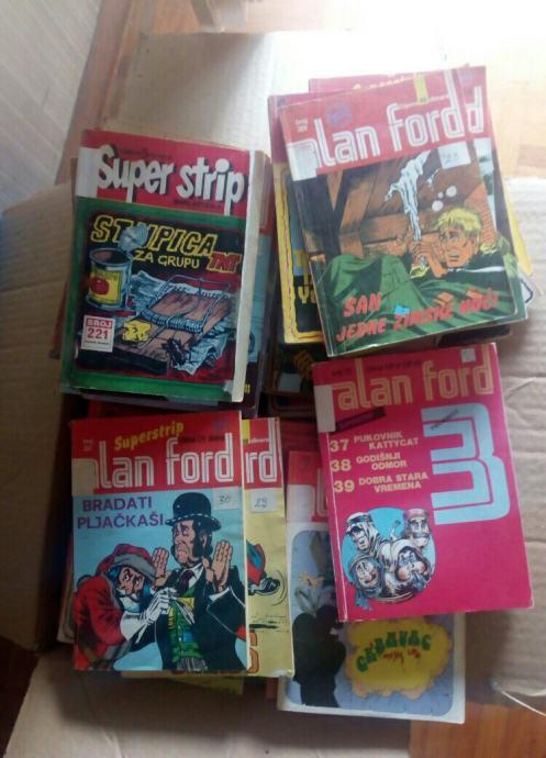 AKCIJA! Alan Ford superstrip kolekcija 55 komada