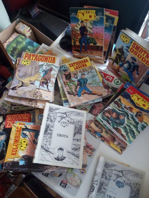 Mister No stripovi, lot ili pojedinačno ili neka kombinacija