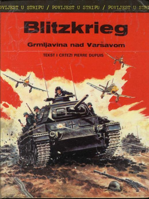 Pierre Dupuis - Blitzkrieg: Grmljavina nad Varšavom