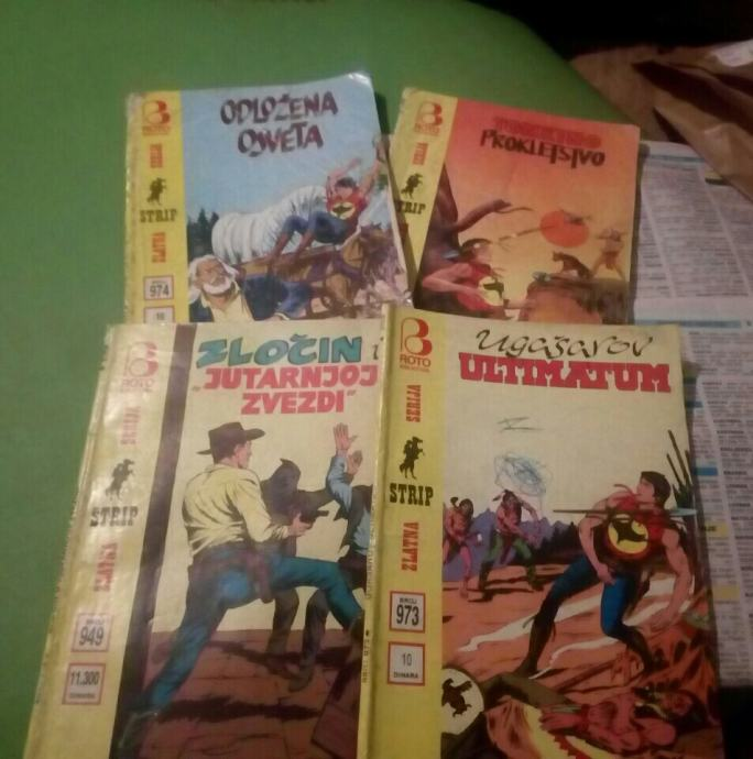 Zagor/Tex Zlatna serija, lot stripova