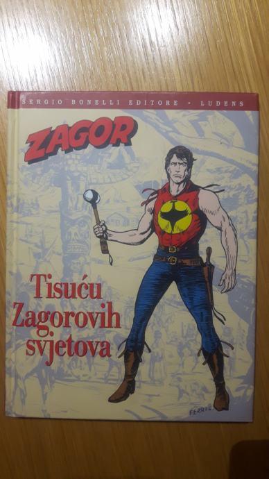 Zagor - Tisuću Zagorovih svjetova, Graziano Frediani, 2007.