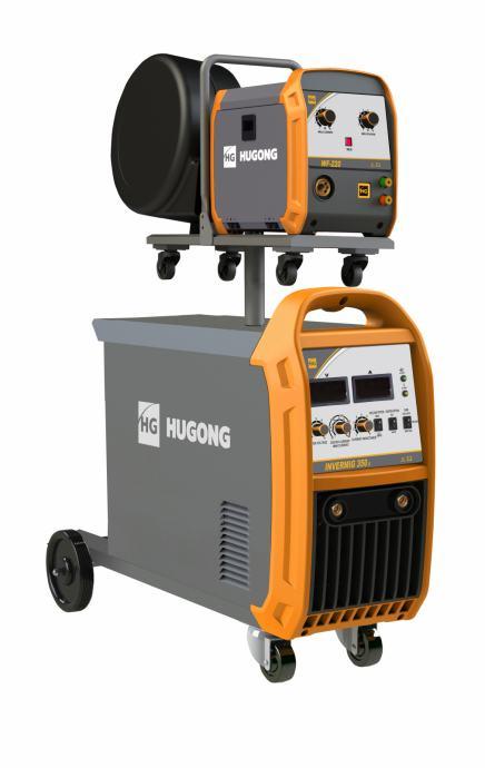 Hugong INVERMIG 350 - MIG/MAG i REL inverter