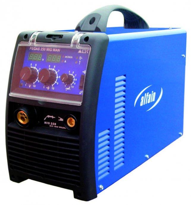 Aparat za varenje 250 A MIG / MAG / CO2 NOVO ! Prijenosni !