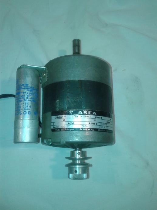 elektromotor s remenicom