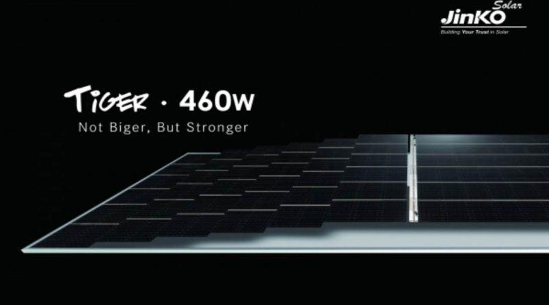 JINKO 460W Tiger Half Cell solarni paneli