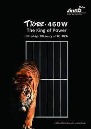 JINKO 460W Tiger PV modules solarni paneli