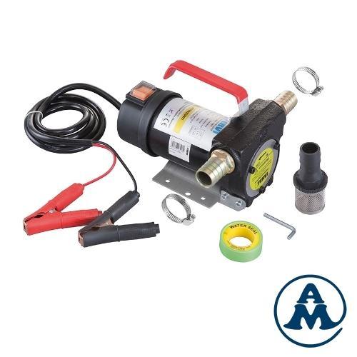 Pumpa za pretakanje za dizel i mineralna ulja 12 V 40 l/min Fervi 0755