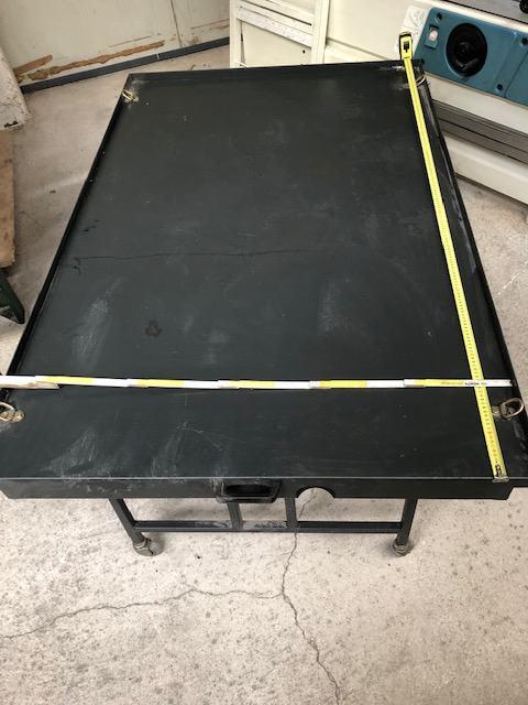 METALNI STOL 170 X 110 X 66 CM