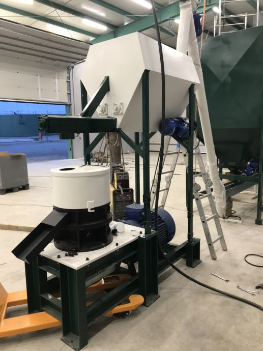 PELETIRKE Strojevi za proizvodnju Peleta od 7.5 kW-60 kW