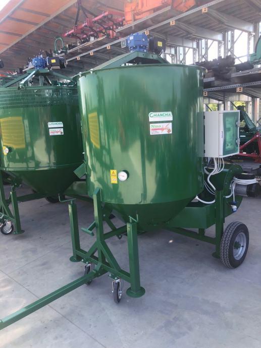 Sušara za lješnjake model SOLAR 2000 – 700 kg