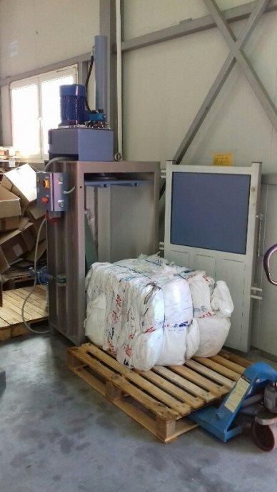 Preša za baliranje papira-Hrvatski proizvod