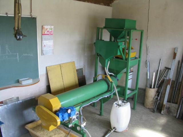 Linija za tretiranje-zaštitu sjemena