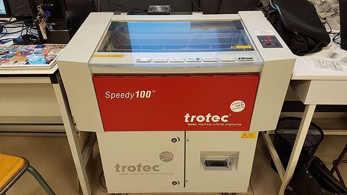 LASER TROTEC SPEDDY 100 (laserska gravirka)