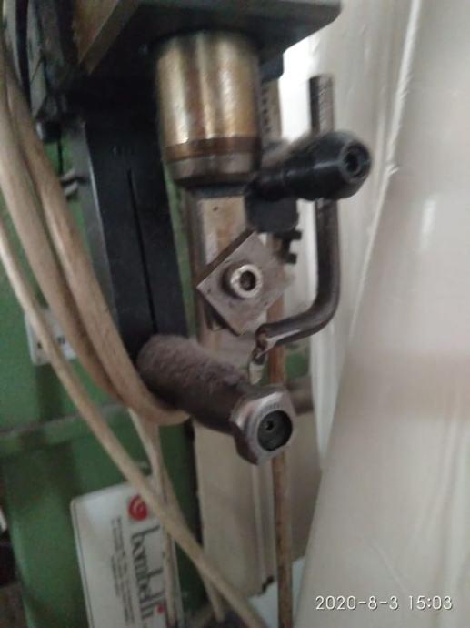 stroj za obrezivanje kože u proizvodnji obuće