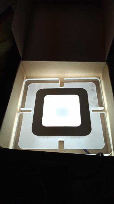 Led stropna lampa 20x20cm