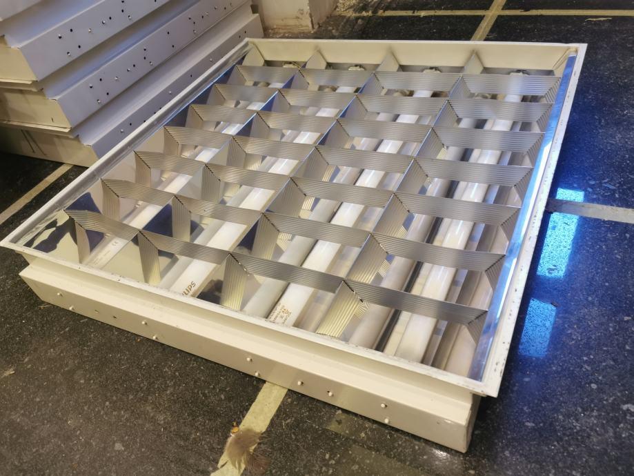 stropne raster lampe - 60x60cm