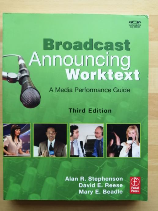 Alan R. Stephenson – Broadcast Announcing Worktext (Z24-2)