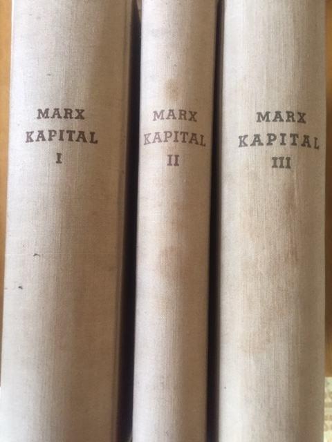 Karl Marx : Kapital I, II, III