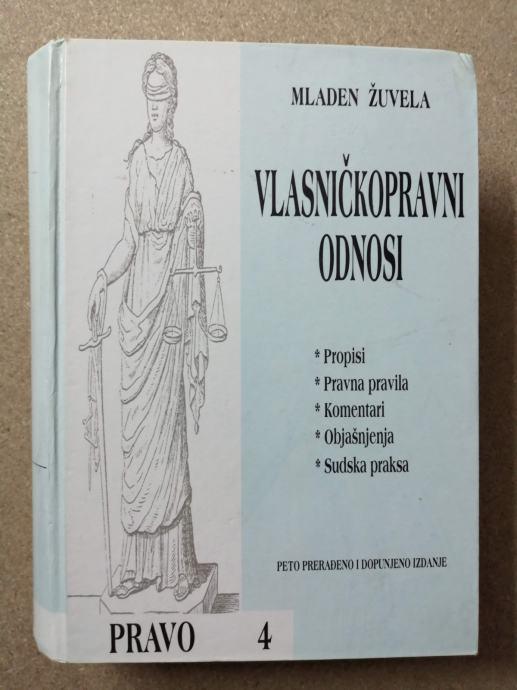 Mladen Žuvela – Vlasničkopravni odnosi (Z66)