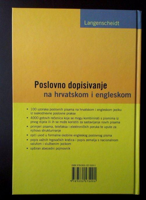 POSLOVNO DOPISIVANJE - Na hrvatskom i engleskom