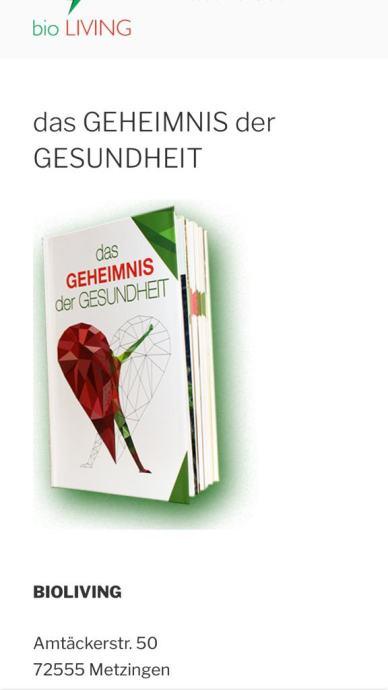 Prodajem nove knjige Tajna zdravlja