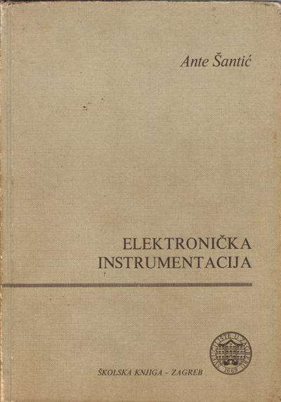 Šantić, Ante - Elektronička instrumentacija