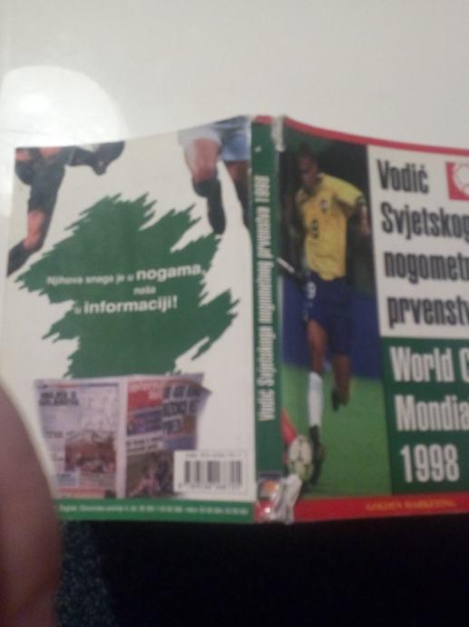 Vodič Svjetskoga nogometnog prvenstva World Cup Mondial 1998 FRANCE 98