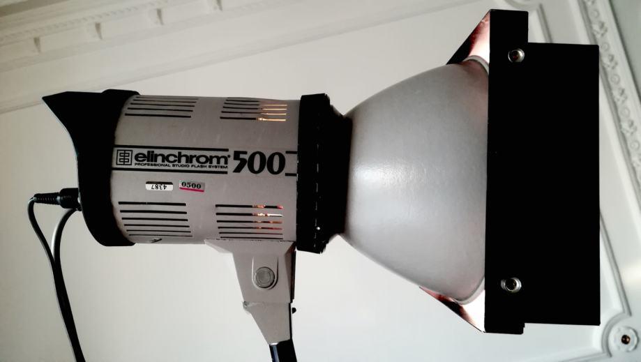 Elichrom  500 studijska bljeskalica (flash)