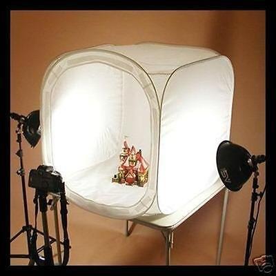 Profesionalni foto box za reklamnu fotografiju, šator 80x80 cm