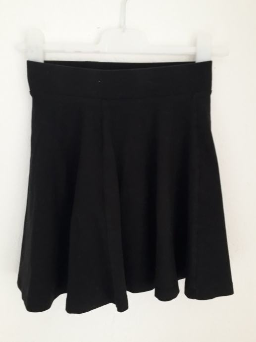 Skater crna suknja HM 36
