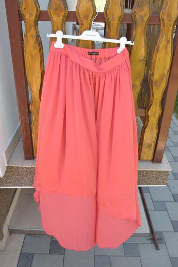Zara Basic duga asimetrična suknja