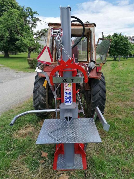 cjepač kalač sjekač hidraulični za drva-vitlo uz doplatu 16T i 20T