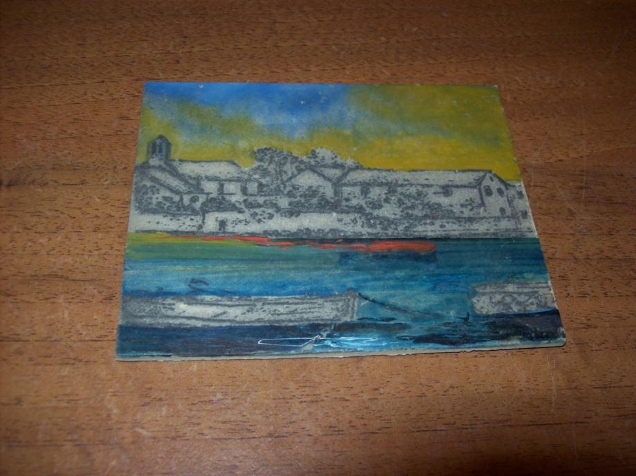 Slika - Minijatura - ulje na kartonu