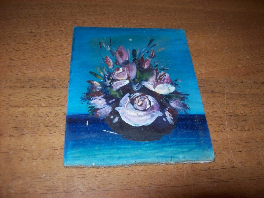 Slika - Minijatura - ulje na lesonitu 5