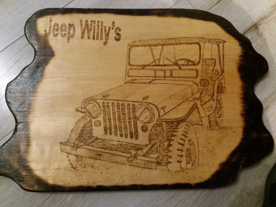 Jeep Willys pirografija