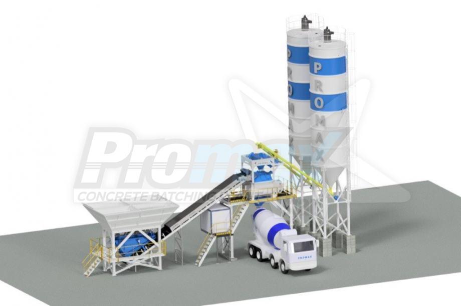 Kompaktno Betonara PROMAX C 100 TWN-PLUS (100 m³ / h)