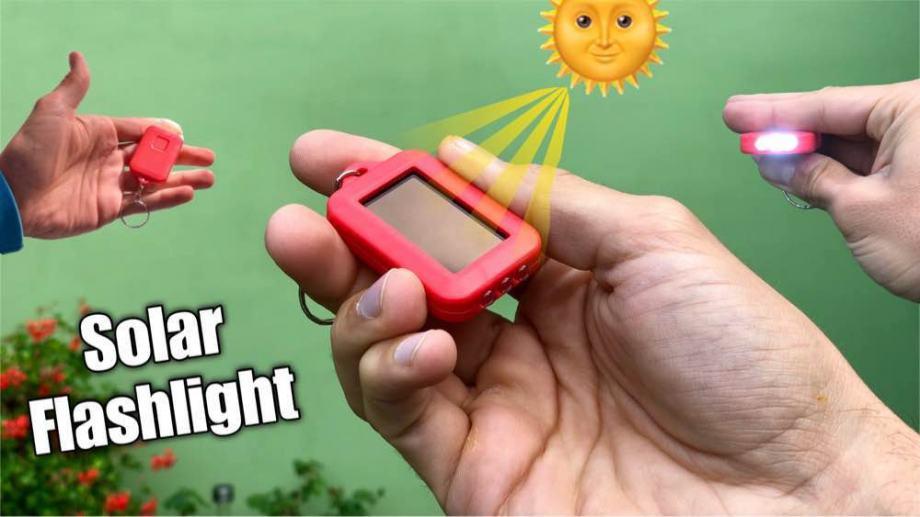 Mini solarna led svjetiljka