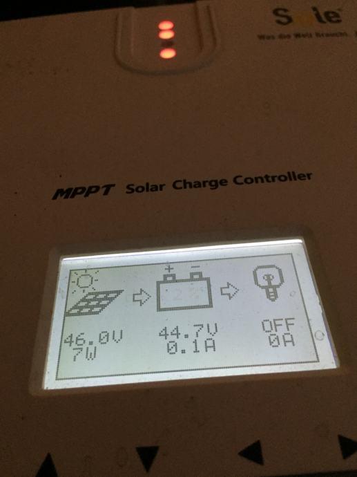 MPPT Solar Charge Controller 48v 60a Boost Float , PRILIKA !