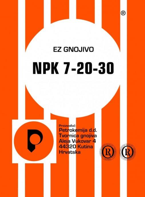 25 30 1 Microsoft W: NPK 7-20-30 Umjetno Gnojivo 25/1