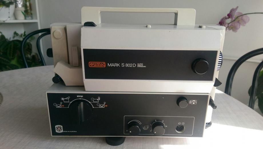 Projektor EUMIG Mark S 802 D !